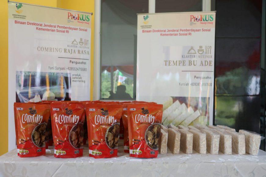 Berbagai produk hasil olahan KPM Program Kewirausahaan Sosial (ProKus)   dok/photo: Humas Kemensos /Bicara Indonesia