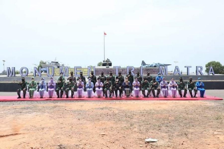 Peresmian monumen Tri Matra   dok/photo: Puspen TNI